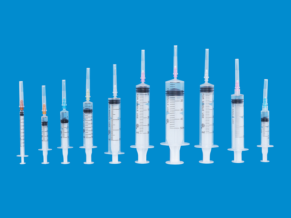 Sterile Syringes For Single Use